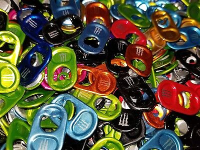 Lot of 500+ Monster Energy can tabs for Monster Gear. Very fast shipping.