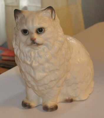 Hagen Renaker Large Persian Cat STARLITE with label Free Shipping