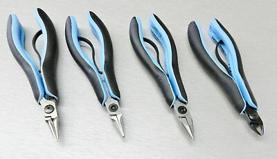 Lindstrom RX Pliers Set RX7490, RX7590, RX7893 & Cutter RX814 Set of 4pcs