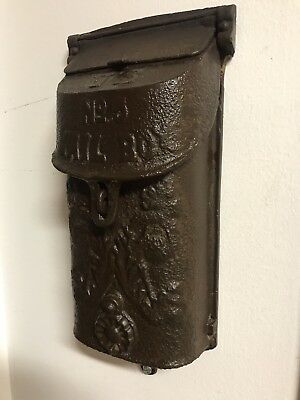 Griswold Vintage Cast Iron Mailbox Early 1900s