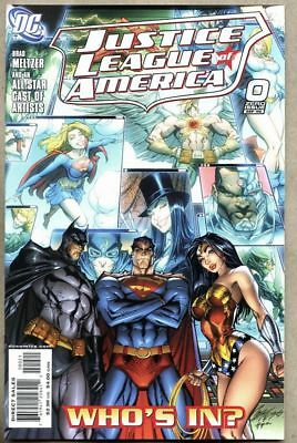 Justice League Of America #0-2006 nm J Scott Campbell Variant cover