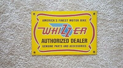 Vintage Advertising Sign Whizzer Bycycles
