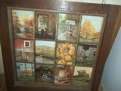 Home Interior vintage fall collage picture