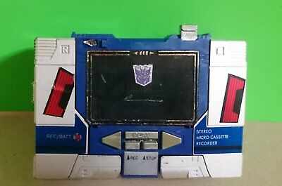 Transformers G1 1984 Soundwave Pre Rub 100% Original. Not Ko