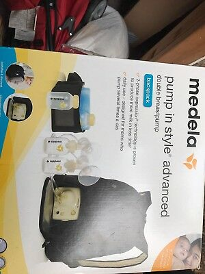 New Medela Pump In Style Advanced Double Breast Pump Backpack #57062