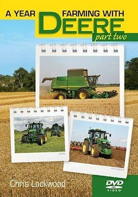 A Year Farming With John Deere Part 2 New Tractors & Machinery Dvd June-December