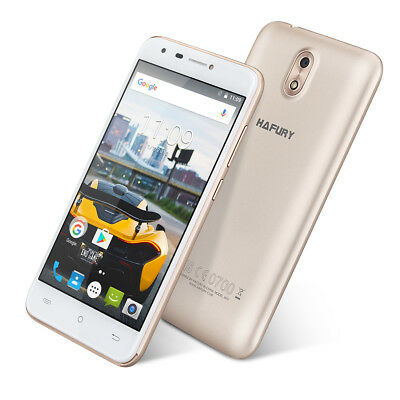 "5.0"" Android 7.0 Cubot Hafury Mix 3G Smartphone Quad Core 16GB Cellulare 13MP IT"