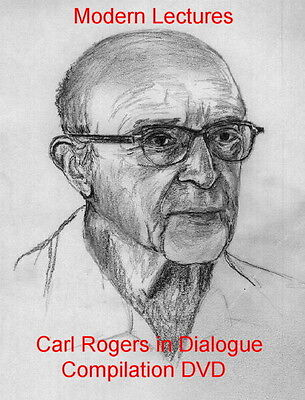 """Person Centred Counselling """"inc. Carl Rogers In Dialogue"""" Dvd Modern Lectures"""