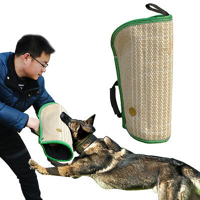 Jute Schutzhund IPO Bite Sleeve Strong for Police Dog Training Protection Cover