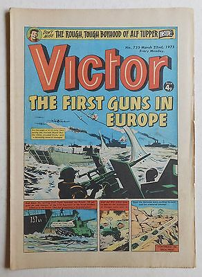VICTOR Comic #735 - 22nd March 1975