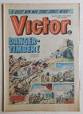 VICTOR Comic #752 - 19th July 1975