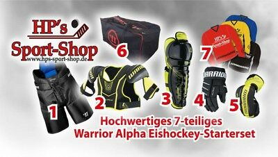 Warrior ALPHA Eishockey Starterset Junior zum Monsterpreis