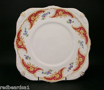 Royal Tara Vintage Fine Bone China Cake Sandwich Serving Plate Ireland c1950s