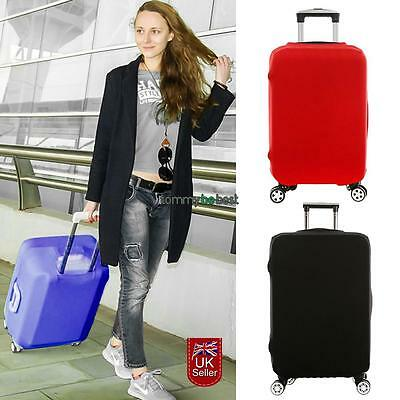 "20-28"" Luggage Protector Elastic Suitcase Cover Bags Dustproof Anti scratch Gift"