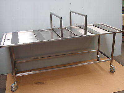 Stainless Steel Washing Cleansing Ghusl Table Awrah Prep Bench Assembled Welded