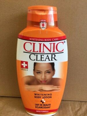 1 x Clinic Clear Whitening Body Care Lotion 500ml - UK Seller