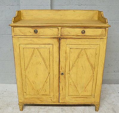 Mid 19th Century Gustavian Style Painted Cupboard