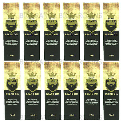 12 x By My Beard Oil Wash Mens Hair Facial Care Grooming Clean Moustache 300ml