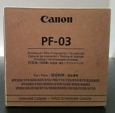 Canon Printhead PF-03 2251B001AC Genuine New!! NIB!!!  US SELLER!!