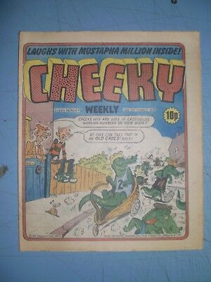Cheeky issue dated September 15 1979