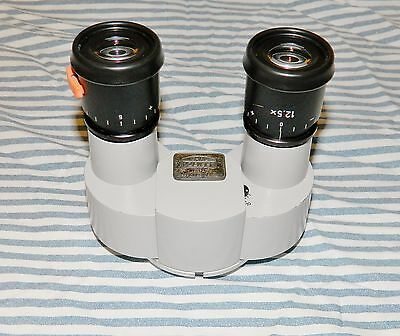 Carl Zeiss f-125 Surgical Microscope Binocular with 12.5 X lenses