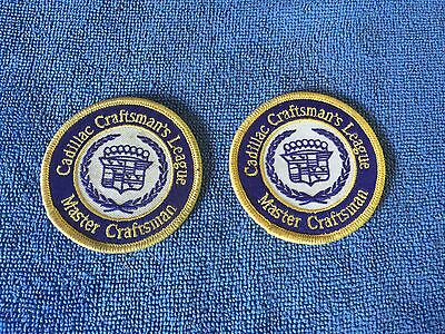 Cadillac Craftsmen League Patches