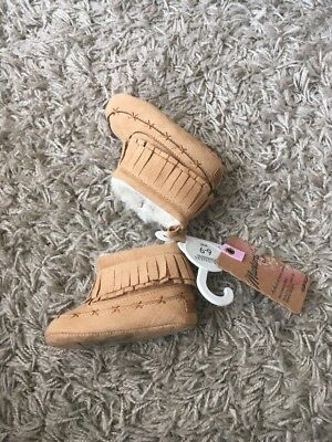 Mantaray 6-9 Months Baby Shoes/moccasins