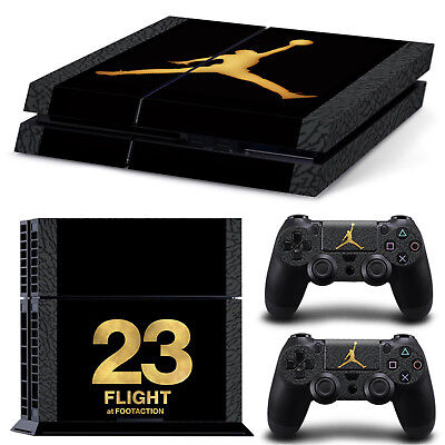 Air Jordan Decal Cover Skin Sticker for PS4 Playstation 4 Console + Controller