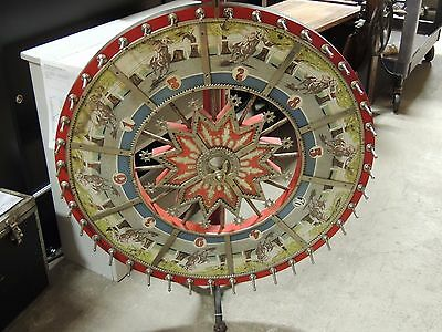 Vintage H.C. Evans CO.  Horse Racing Odds Wheel!! Original Condition! L@@K
