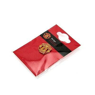 Manchester United Pin Badge Crest Official Man Utd Football Club Metal MUFC FC