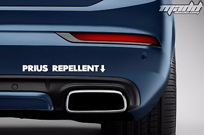 Prius Repellent Sticker | Funny Loud Exhaust Decal