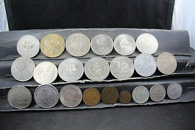 Poland     22  assorted coins   lot H 237