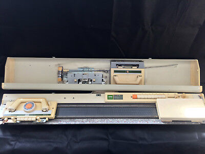 Brother Fine Gauge Knitting Machine Package KH 120 + KR 120 Ribber Rare Serviced