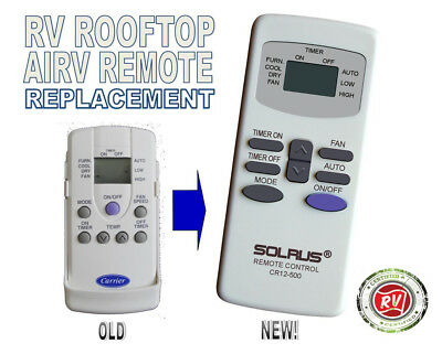 Carrier Airv Rv Remote Control Replacement For Airv Rv