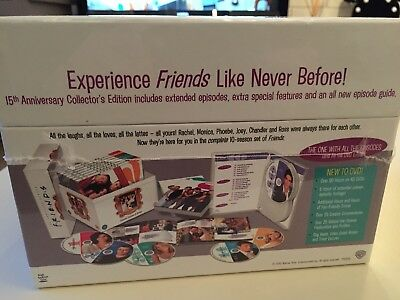 Friends - Series 1-10 - Complete & Extended (DVD 40-Disc Box Set) New & Sealed