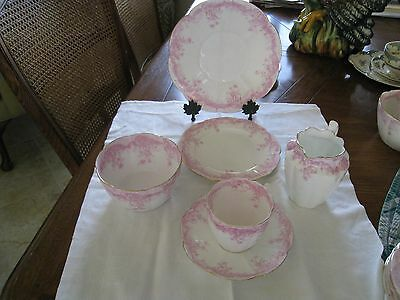 Vintage Foley Bros Bone China 17 Piece Service for 4 Tea/Luncheon Set Rare