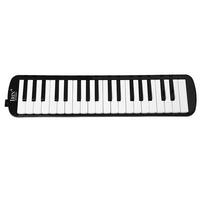 SS IRIN Black 37 Piano Keys Melodica Pianica w/Carrying Bag For Students New