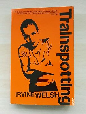 Irvine Welsh - Trainspotting Film Tie-in Paperback, Very Good Condition