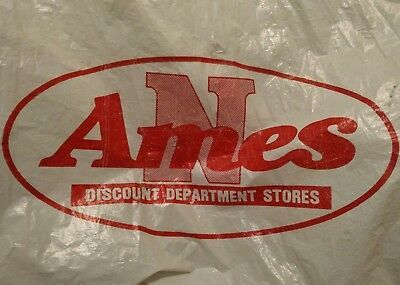 vintage Ames Department Store shopping bag