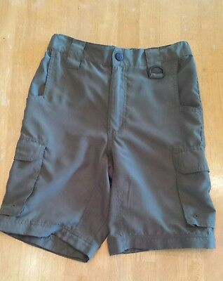 Boy Scouts of America BSA Green Boy's Youth Medium Uniform Shorts used