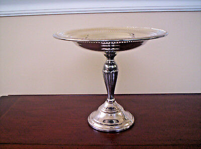 F.B. Rogers Silverplate 7 inch Compote