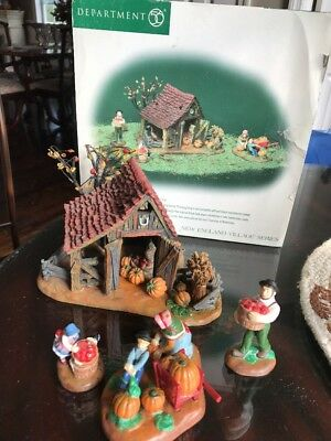 Dept 56 New England Village It's Almost Thanksgiving