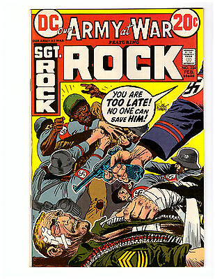 OUR ARMY AT WAR # 254 in NEAR MINT  grade 1973 DC WAR comic with  SGT ROCK
