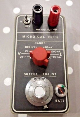 Time Electronics Micro Cal 1030 Current & Voltage Calibrator