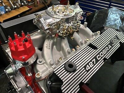351W / 427 Small BLock Ford Long block,Edelbrock Clevand