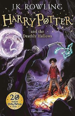 Harry Potter and the Deathly Hallows (Harry Potter 7/7) - J.K. Rowling FAST P&P