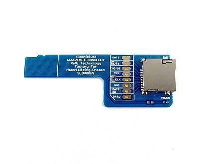 micro SD card sniffer for Logic analyzer, adapter, extension, extender, microsd