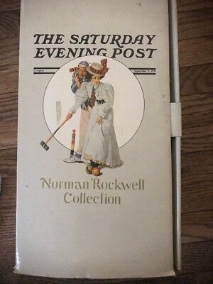 """""""The Saturday Evening Post"""" Norman Rockwell Doll Collection"""