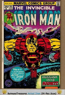Invincible Iron Man #80 (8.5) VF+ Jack Kirby Cover 1975 Bronze Age Key Issue