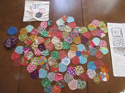 Antique/Vintage Quilt Blocks and Patterns - Hit or Miss Quilt pieces and pattern